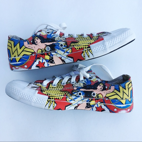 a946577710aa Converse Shoes - Converse Wonder Woman Chuck Taylor All Star Shoes